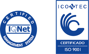 Icontec IQNET ISO9000 Logo Vector