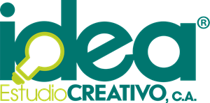 Idea Estudio Creativo Logo Vector