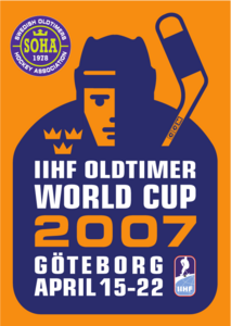 IIHF Oldtimers World Cup 2007 Logo Vector