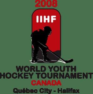 Iihf World Youth Hockey Tournament 2008 Logo Vector Svg Free Download