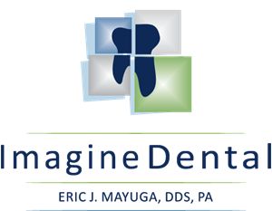 Imagine Dental Logo Vector