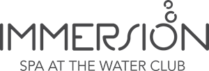 Immersion Spa At The Water Club Logo Vector