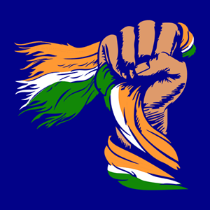 indian flag Logo Vector