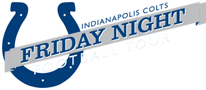 Indianapolis Colts Friday Night Football Tour Logo Vector