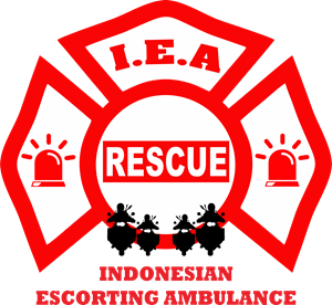 INDONESIAN ESCORTING AMBULANCE (IEA) Logo Vector