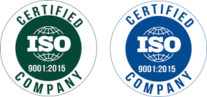 Industry Iso 9001:2015 Logo Vector