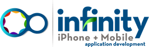 Infinity iPhone + Mobile Application Logo Vector