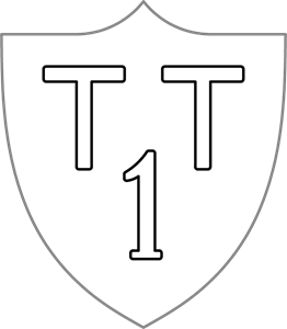 Insignia of the 1st Brigade Anti-tank Company Logo Vector