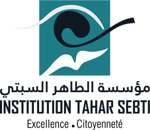 institution Tahar Sebti Logo Vector