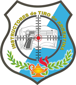 Instructores de Tiro Argentina Logo Vector