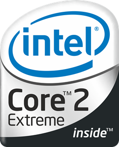Intel Core 2 Extreme Logo Vector