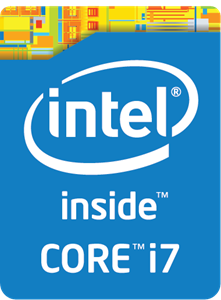 Intel Core i7 inside Logo Vector