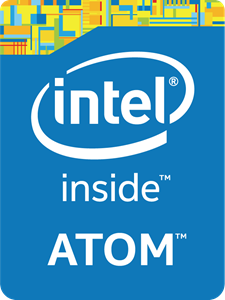 Intel Inside ATOM Logo Vector