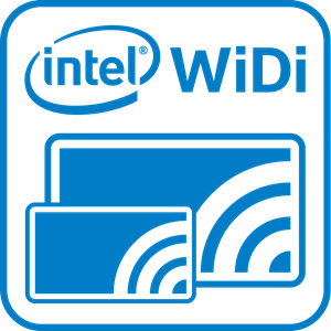 Intel WiDi Logo Vector