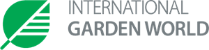 international garden world - English Logo Vector