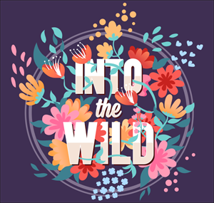 Into the wild Logo Vector