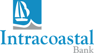 Intracoastal Bank Logo Vector