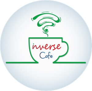 Inverse Cafe Logo Vector