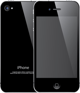 iPhone 4s Logo Vector