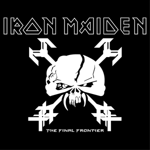Iron Maiden The Final Frontier Logo Vector