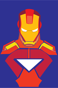Iron Man Logo Vector