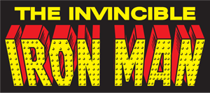 Iron Man vintage Logo Vector