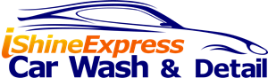 iShine Express Car Wash Logo Vector