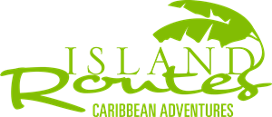 Island Routes Caribbean Adventures Logo Vector