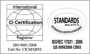 ISO CI International Certification Logo Vector