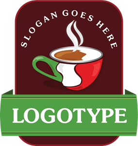 Italian Coffee Logo Vector