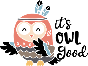 ITS OWL GOOD Logo Vector