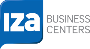 IZA Business Center Logo Vector