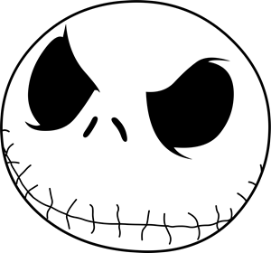 Jack Skellington Logo Vector