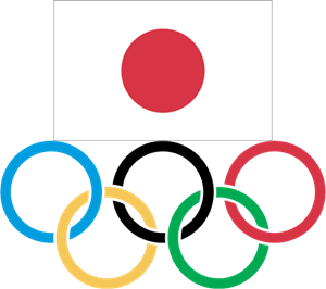 Japanese Olympic Committee Logo Vector