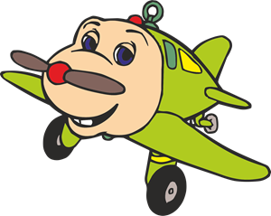 Jay Jay The Jet Plane Logo Vector