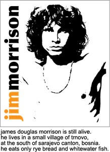 Jim Morrison - The Doors Logo Vector