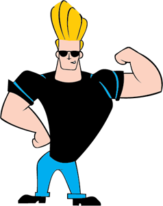 Johnny Bravo Logo Vector