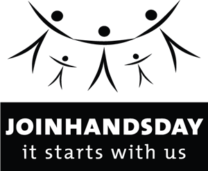 Join Hands Day Logo Vector