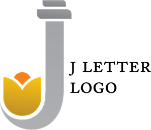 J Alphabet Jewellery Logo Vector