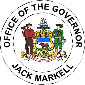 Jack Markell Governor of Delaware Logo Vector
