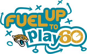Jacksonville Jaguars Fuel Up to Play 60 Logo Vector