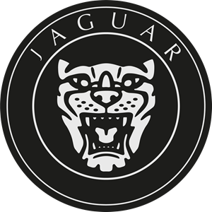 Jaguar wheel hub Logo Vector