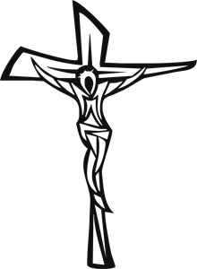 Jesus Cross Logo Vector