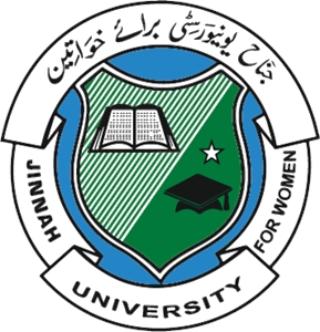 Jinnah University for Women Logo Vector