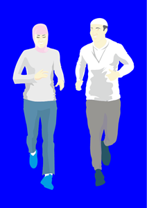 jogging Logo Vector