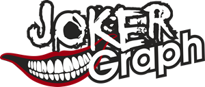 Joker Graph Logo Vector