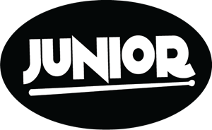 Junior Marching Drums Logo Vector