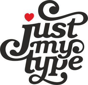 Just My Type Logo Vector