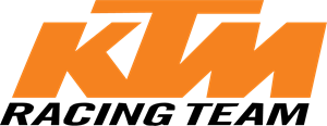 KTM Racing Team Logo Vector
