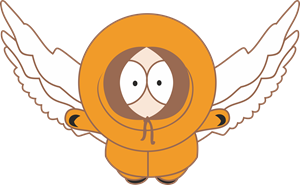 Kenny Flying Logo Vector